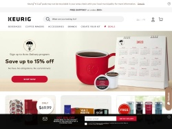 Keurig Canada promo code and other discount voucher