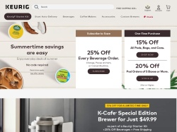 Keurig promo code and other discount voucher