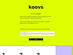 Koovs promo code and other discount voucher