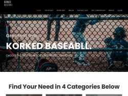 Korked Baseball promo code and other discount voucher