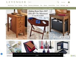 Levenger CA promo code and other discount voucher