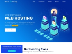 Lithium Hosting coupons