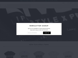 Live Fit Apparel coupons