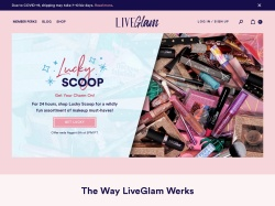 Liveglam promo code and other discount voucher