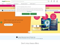 Lloyds Pharmacy promo code and other discount voucher