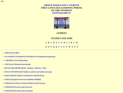 German: Studies and jobs (Didier Madelaine) Thumb