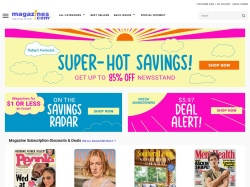 Magazines.com promo code and other discount voucher