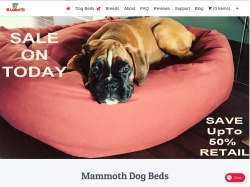 Mammoth dog beds promo code and other discount voucher