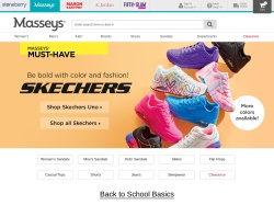 Masseys Shoes promo code and other discount voucher
