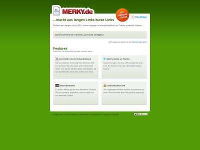 merky.de Rapport SEO