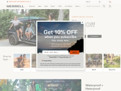 Merrell Canada promo code and other discount voucher