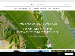 Michael Stars promo code and other discount voucher