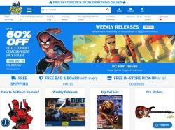 Midtown Comics promo code and other discount voucher