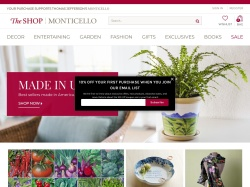 Monticello Shop promo codes