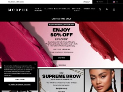 Morphe promo code and other discount voucher