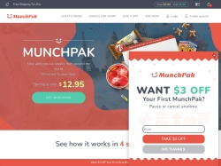 MunchPak promo code and other discount voucher