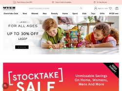 Myer promo code and other discount voucher