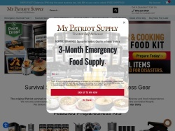 My Patriot Supply promo code and other discount voucher