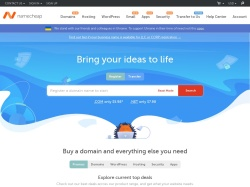 Namecheap promo code and other discount voucher