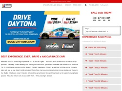 NASCAR Racing Experience promo code and other discount voucher