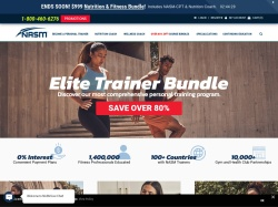 NASM promo code and other discount voucher