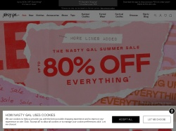 Nasty Gal promo code and other discount voucher