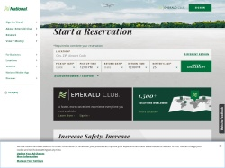 National Car Rental promo code and other discount voucher