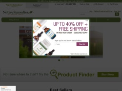 Native Remedies promo code and other discount voucher