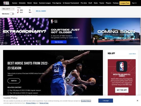 NBA官方网站