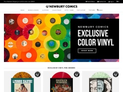 Newbury Comics promo codes