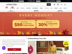 Noracora promo code and other discount voucher