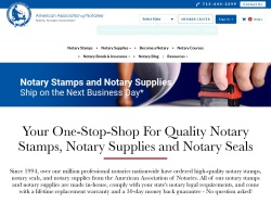 American Association Of Notaries promo code and other discount voucher