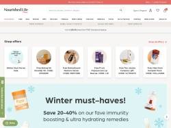 Nourished Life Australia promo code and other discount voucher
