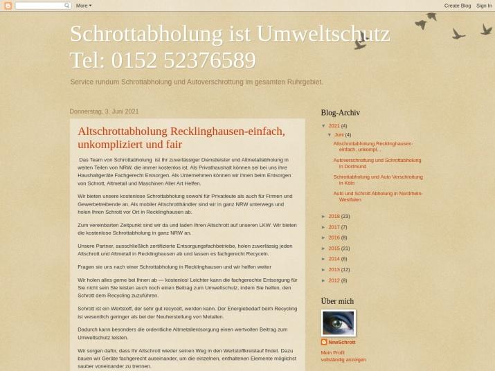 http://nrwschrott.blogspot.com/