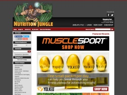 Nutrition Jungle promo code and other discount voucher
