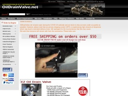 OilDrainValve promo code and other discount voucher