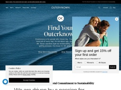 Outerknown promo code and other discount voucher