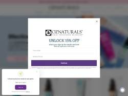 OZNaturals coupons