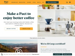 Pact Coffee promo code and other discount voucher