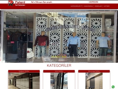 patentraf.com SEO-rapport