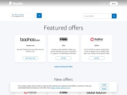 Paypal UK promo code and other discount voucher