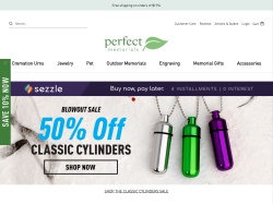 Perfect Memorials promo code and other discount voucher