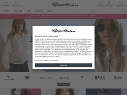 Peter Hahn promo code and other discount voucher
