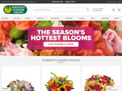 Phoenix Flower Shops promo code and other discount voucher