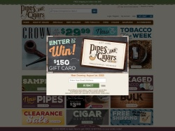Pipes and Cigars promo code and other discount voucher