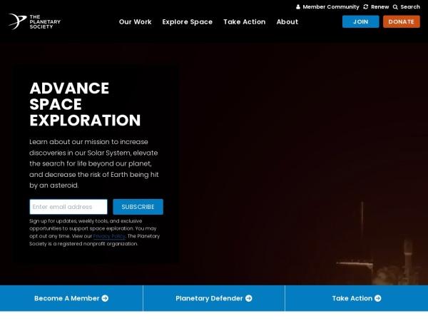 行星学会官网