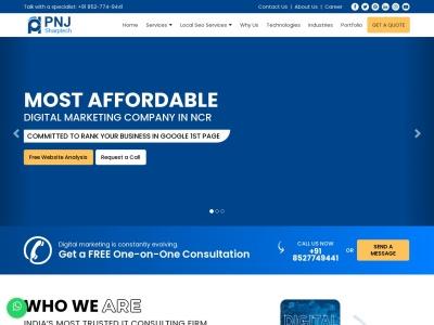 pnjsharptech.com SEO-rapport