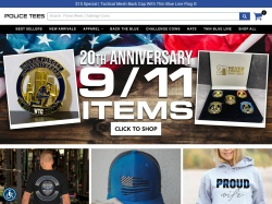 PoliceTees promo code and other discount voucher