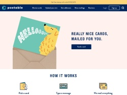 Postable promo code and other discount voucher
