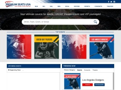 Premium Seats USA promo code and other discount voucher